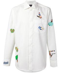 Bernhard Willhelm | Cotton Embroidered Shirt From