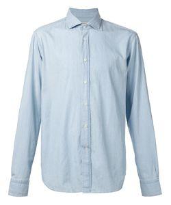 Man | Рубашка С Косым Воротником
