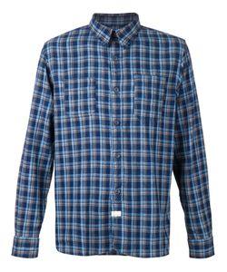 RRL | Indigo Cotton Plaid Shirt From