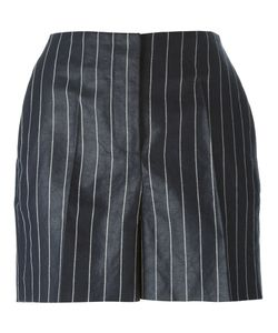 Gabriele Colangelo | And Cotton-Linen Blend Pinstripe Shorts From Featuring A Concealed Front Fastening And Side Pockets