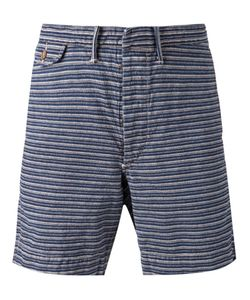 RRL | Cotton Striped Bermuda Shorts From