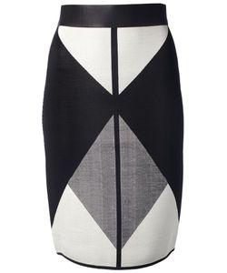 OCTAVIO PIZARRO | Tricolour Skirt