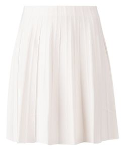 Maison Ullens | Cotton Pleated Skirt From