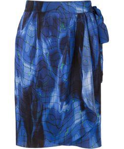 VITORINO CAMPOS | Piscina Print Wrap Skirt