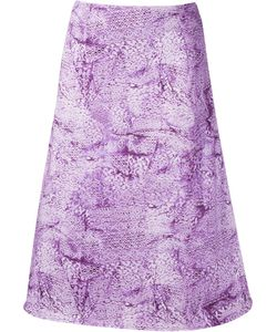FERNANDA YAMAMOTO | Printed Midi Skirt