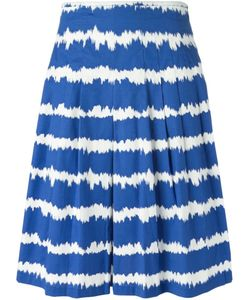 Samantha Sung | Cobalt And Stretch Cotton Zelda Skirt From