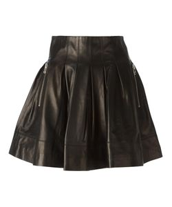 Sly010 | Leather Pleated High Waist Skirt From