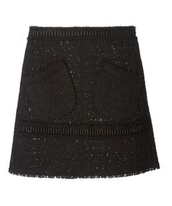 Veronique Leroy | Tweed A-Line Skirt