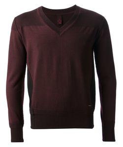 SIDE SLOPE | V-Neck Sweater