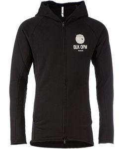 BLK OPM | Толстовка На Молнии С Капюшоном И Принтом Логотипа