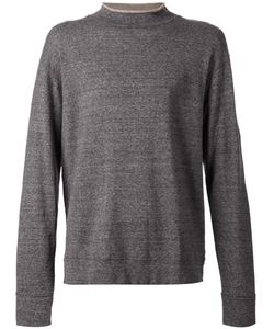 CAMOSHITA BY UNITED ARROWS | Linen Blend Turtle Neck Sweatshirt From