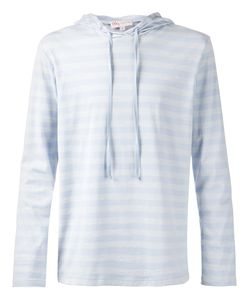 ORLEY | And Cotton Striped Hoodie From