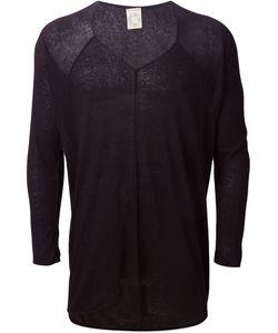JAN JAN VAN ESSCHE | Linen Blend Fine V-Neck Sweater From