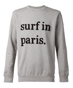 CUISSE DE GRENOUILLE | And Cotton Surf In Paris Sweatshirt From