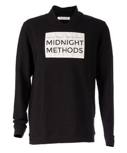 00:00:MM  MIDNIGHT METHODS/PARIS | Logo Print Stylised Sweater