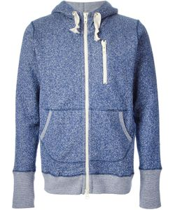 Riding High | Cotton Marled Zipped Hoodie From