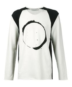 00:00:MM  MIDNIGHT METHODS/PARIS | And Stretch Cotton Eclipse Long Sleeve T-Shirt From
