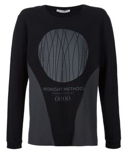 00:00:MM  MIDNIGHT METHODS/PARIS | Stretch Cotton Printed Sweater From
