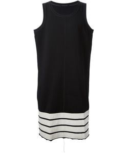 Nicolas Andreas Taralis | Cotton Long Striped Tank Top From