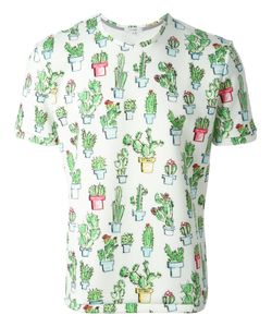Kit Neale | Multicoloured Cactus Print T-Shirt From