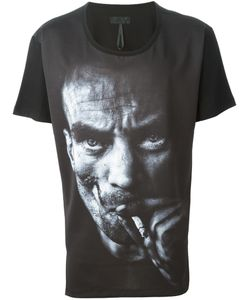 D. Gnak   And Cotton Printed T-Shirt From D