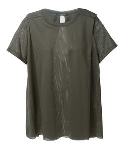 Nicolas Andreas Taralis | Perforated Layered T-Shirt From