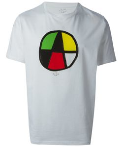 Paul Smith Red Ear | Cotton Circle Print T-Shirt From