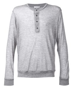 MAXWELL SNOW | Cashmere Henley T-Shirt From