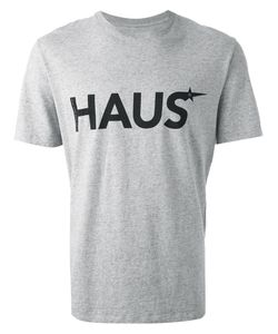 HAUS | Cotton X Ggdb Logo Print T-Shirt From Golden Goose Deluxe Brand