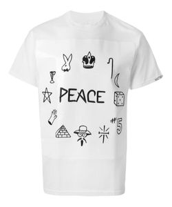 BEENTRILL | Cotton Peace Print T-Shirt From