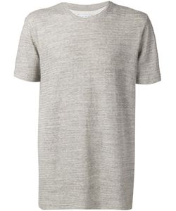 Lucio Castro | Cement Cotton Round Neck T-Shirt From