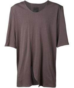 SIKI IM | Cotton Loose Fit Asymmetric T-Shirt From