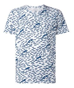 CUISSE DE GRENOUILLE | And Cotton All-Over Wave Print T-Shirt From