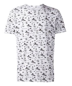 CUISSE DE GRENOUILLE | And Cotton All-Over Surfer Print T-Shirt From