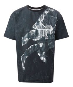 SYSTEM HOMME | Abstract Print T-Shirt