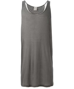 JAN JAN VAN ESSCHE | Cotton-Linen Blend Oversized Tank Top From
