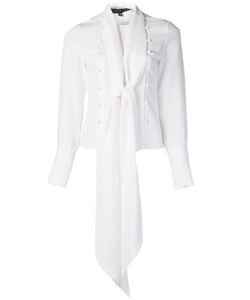 DOMINIC LOUIS | Блузка С Завязками На Шее