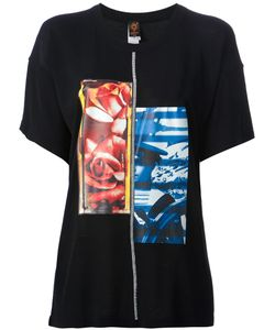 Jean Paul Gaultier Soleil | T-Shirt From Featuring A Round Neck Short Sleeves A Straight Hem And A Contrasting And Abstract Print To The Front