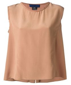 Sharon Wauchob | Silk Sleeveless Top From Featuring A Round Neck A Loose Fit And A Rear Central Vent