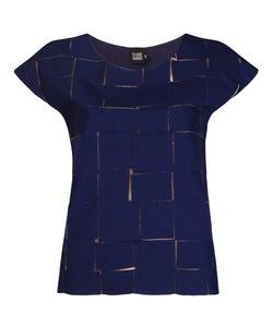 FERNANDA YAMAMOTO | Cap Sleeve Textured Blouse