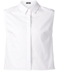JI OH | Cotton Sleeveless Shirt From