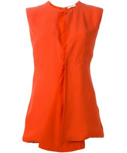 Gabriele Colangelo | Lobster Silk Blend Front Flap Asymmetric Top From