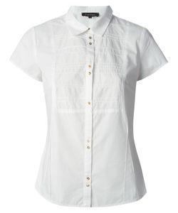 Cotélac   Cotton Stitching Detail Bib Shirt From
