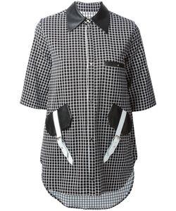 JAMIE WEI HUANG | Рубашка С Кожаными Деталями