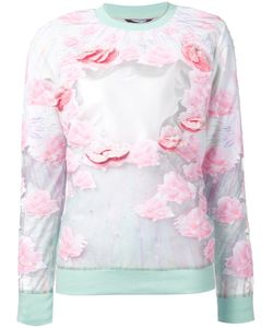 Manish Arora | Print Sheer Insert Sweatshirt From