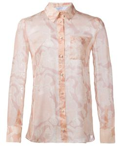 Altuzarra   Прозрачная Рубашка С Цветочным Принтом