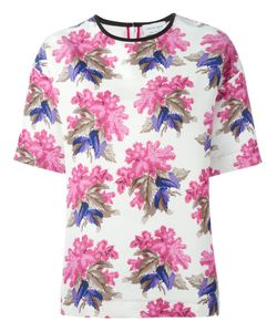 Caterina Gatta | Print Wide Sleeve Blouse From
