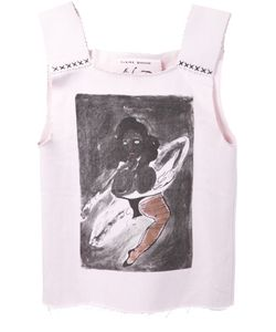 CLAIRE BARROW | Cotton Doll Print Top From