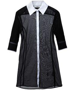 Ports | Прозрачная Рубашка С Рукавами По Локоть