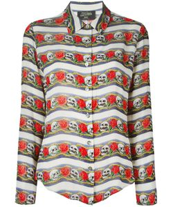 JEAN PAUL GAULTIER VINTAGE | Рубашка С Черепами И Розами